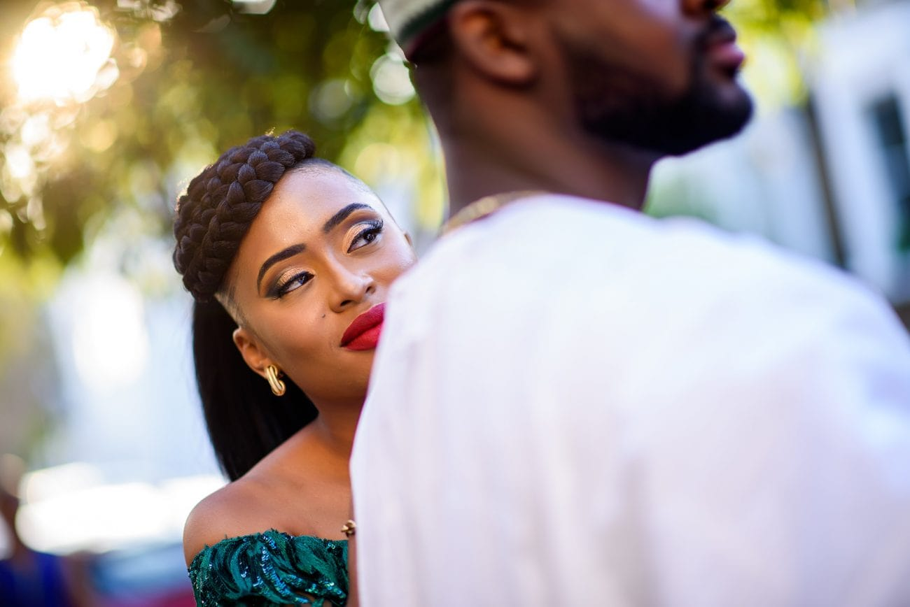 Nigerian engagement photo session