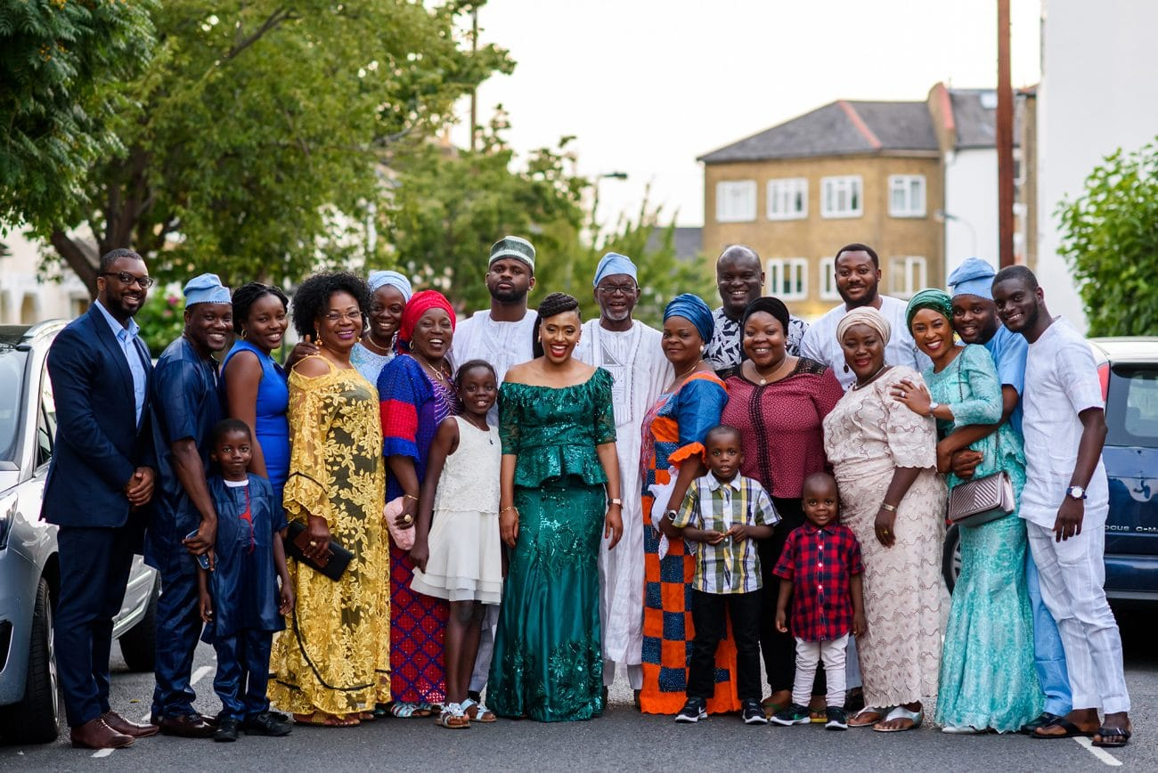 Traditional nigerian wedding photography