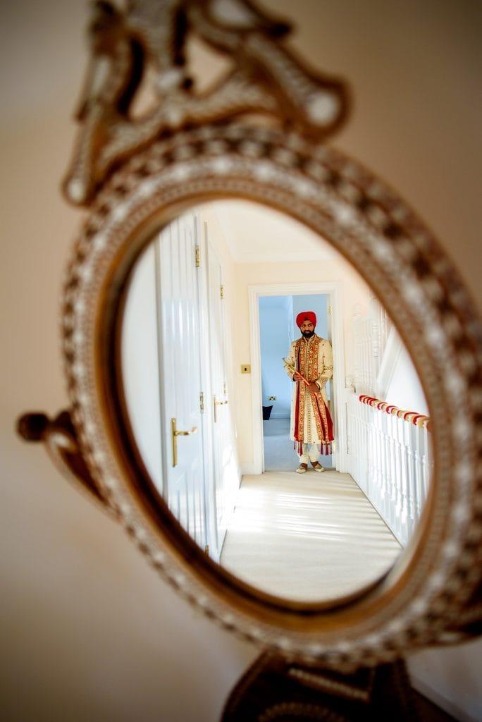 Warwick sikh wedding getting ready photography