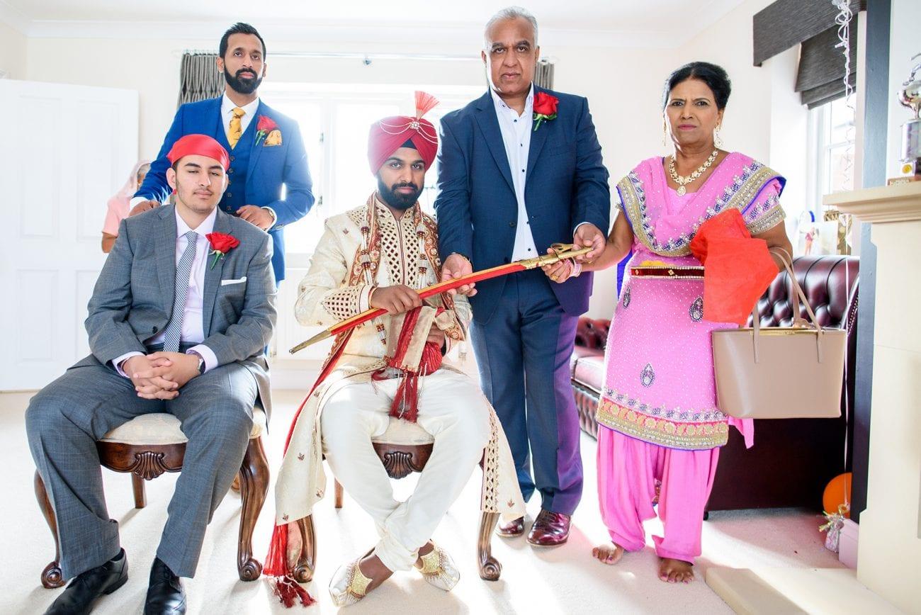 Warwick sikh wedding photographer