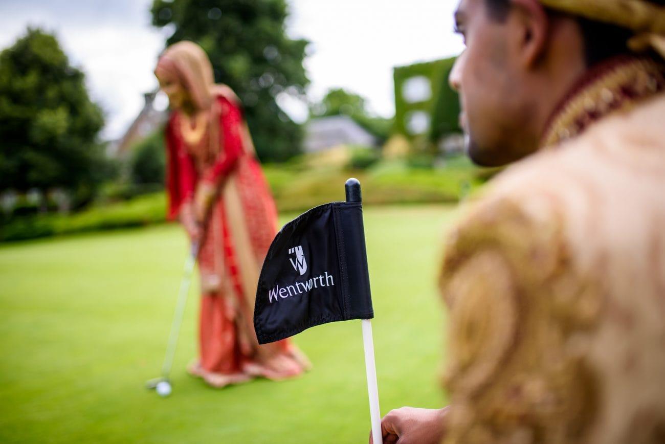 Wentworth golf club wedding photographer