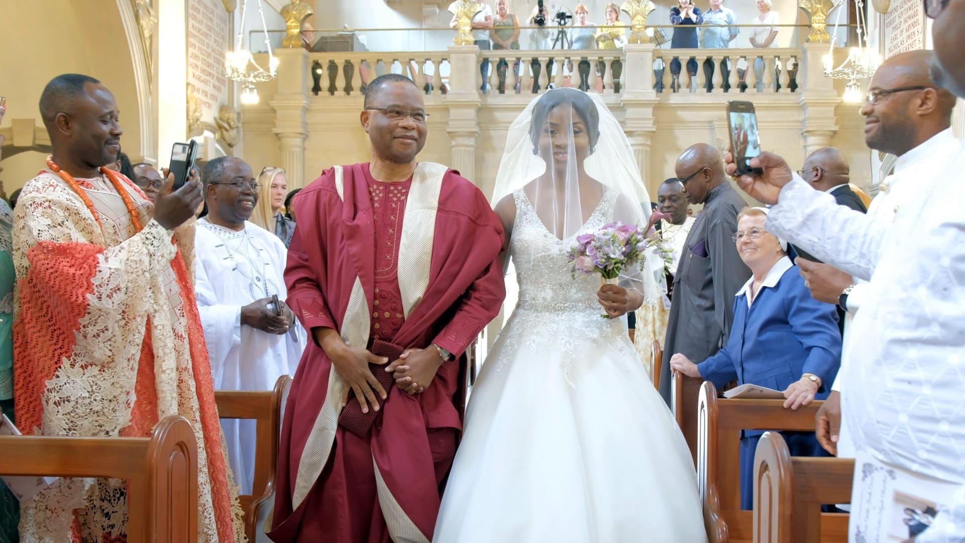Nigerian wedding videography hertfordshire