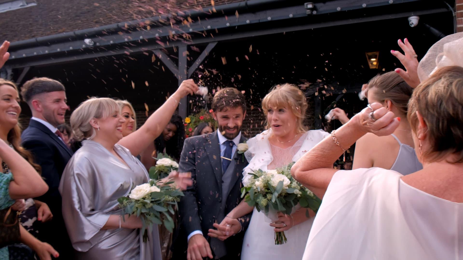 Denbies Wine Estate wedding videography