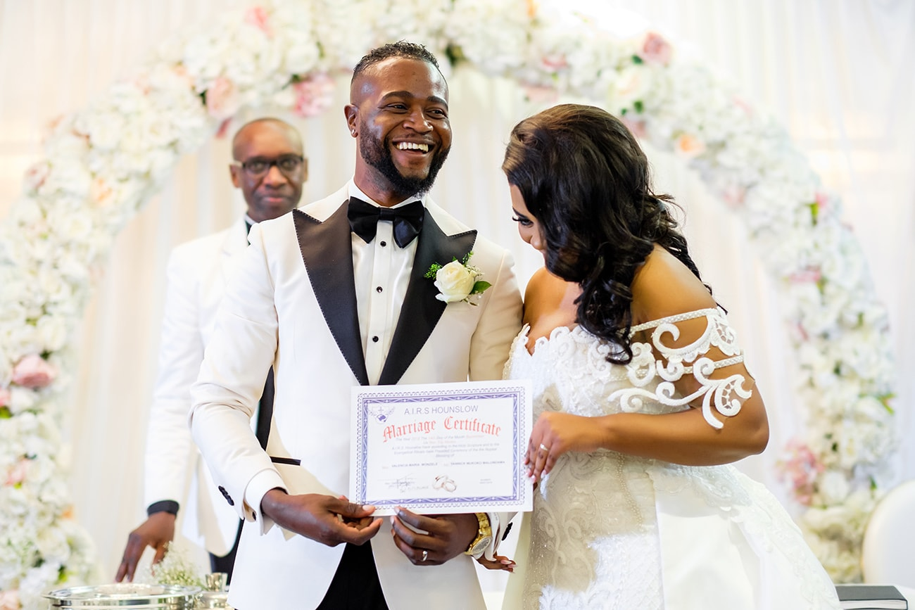 African wedding photography london