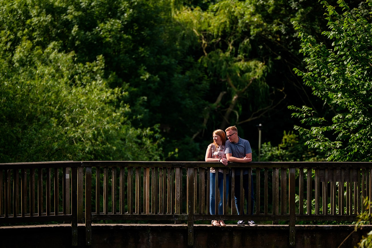 Bedford river pre wedding session