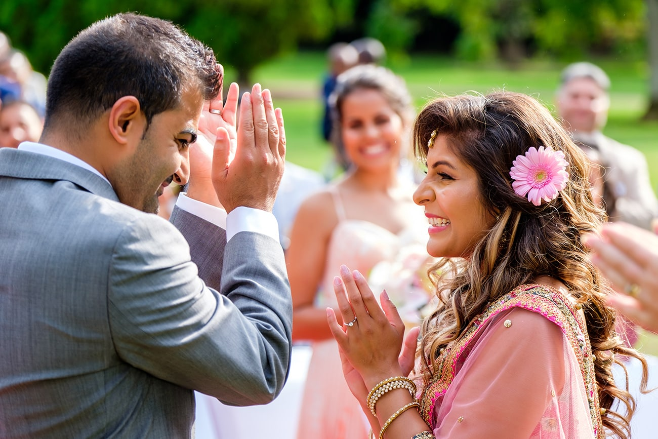 Fanhams hall asian wedding photographer