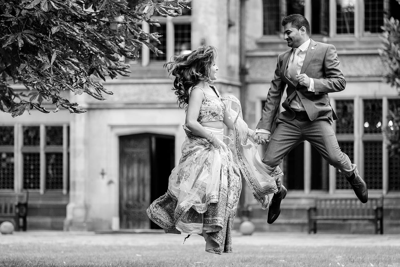 Fanhams hall wedding photographer