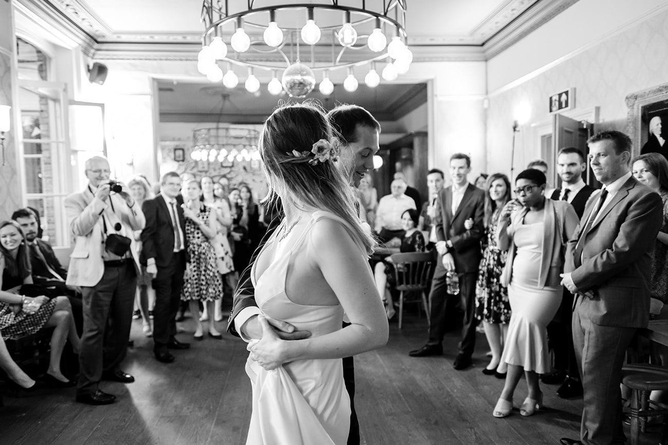 The crown tavern lee wedding photographer