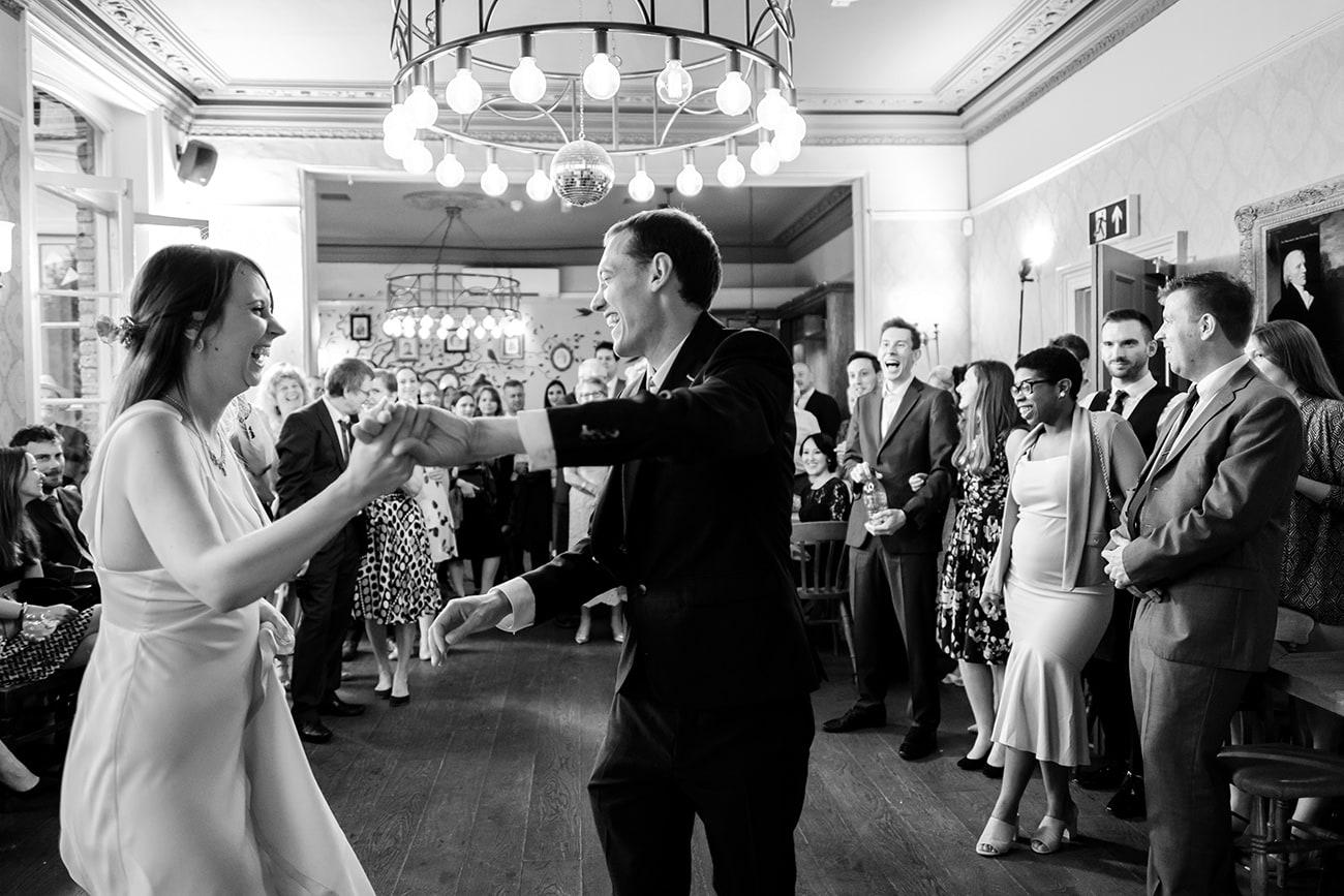 The crown tavern wedding photographer