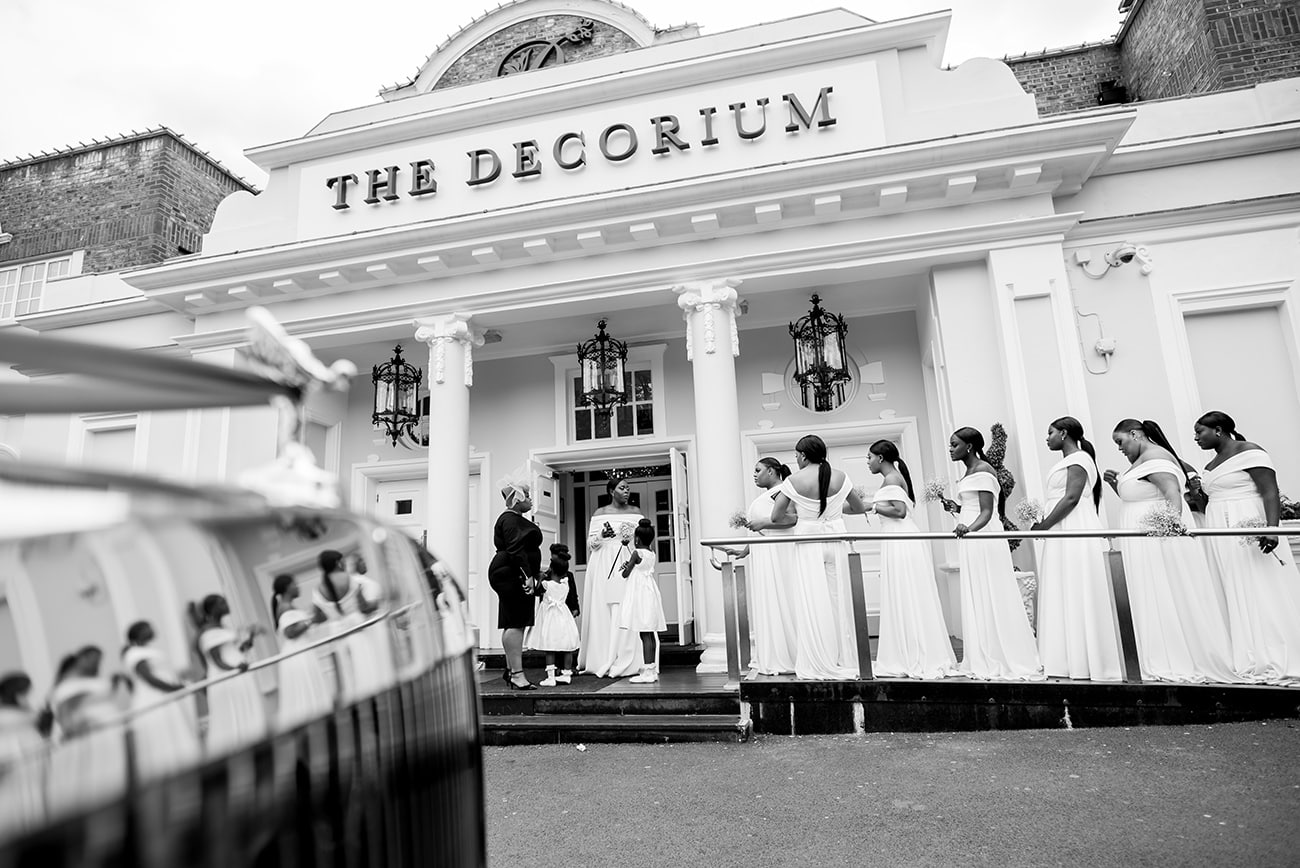 The decorium african wedding