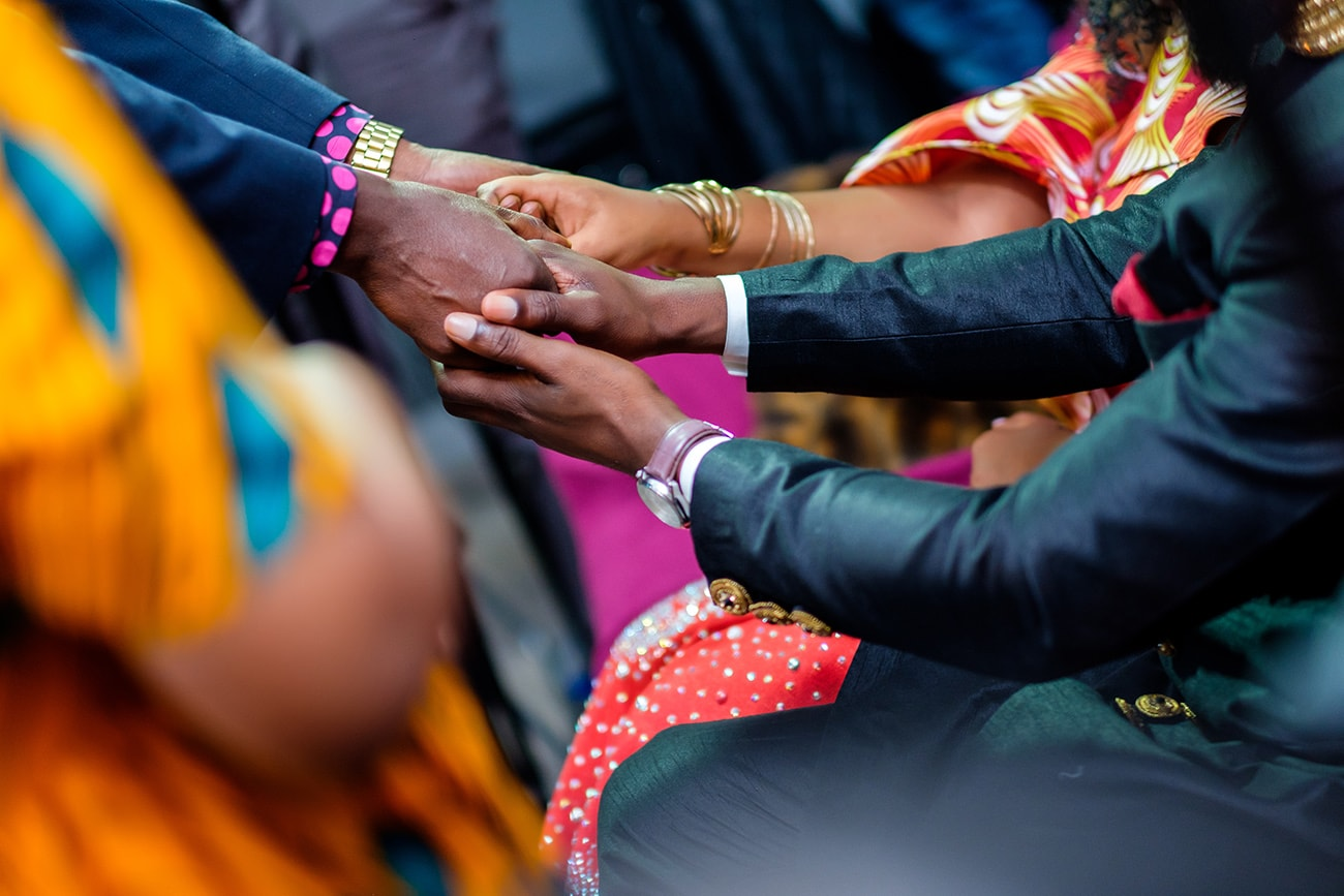 Traditional african wedding photographer london