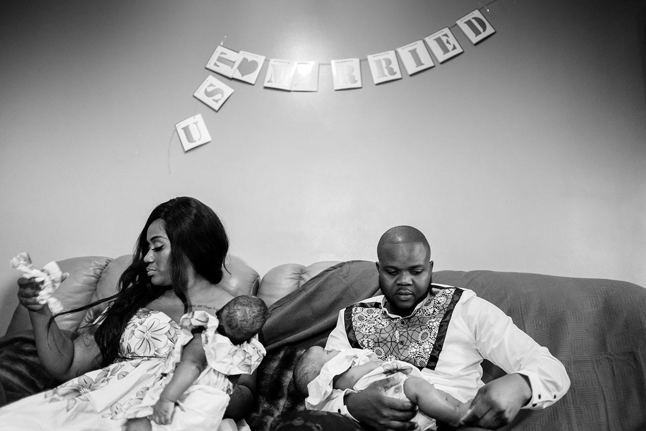 Traditional congolese wedding photography london