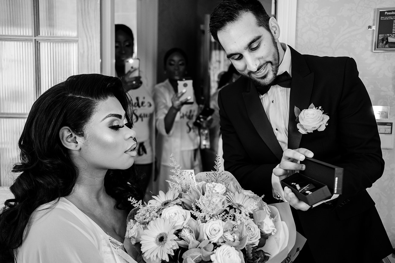 West lodge park hotel wedding photography
