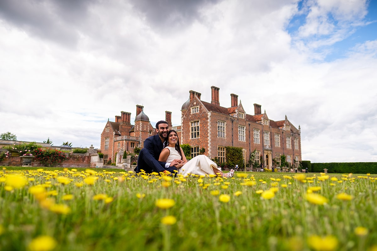 Couple Photos on the grounds of North Mymms Park